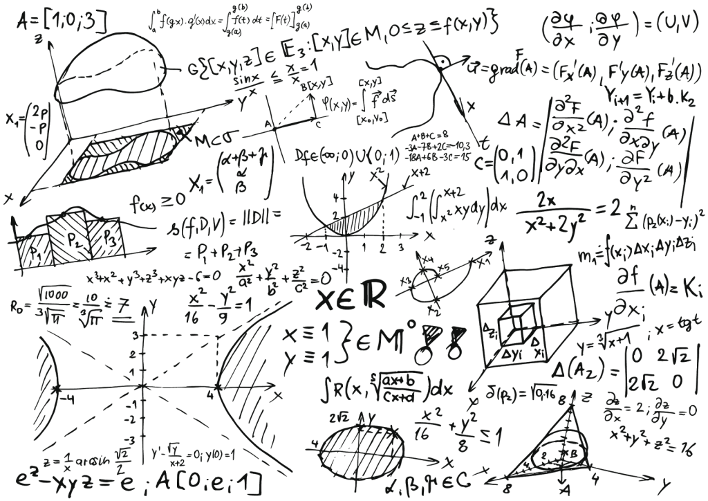 Pas de panique : l'équation à résoudre sera plus simple que celle-ci !